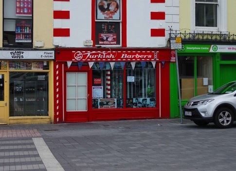 Why so many Turkish barber shops?