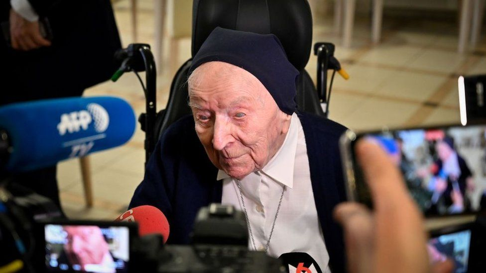 Europe's oldest woman recovers from disease she didn't know she had