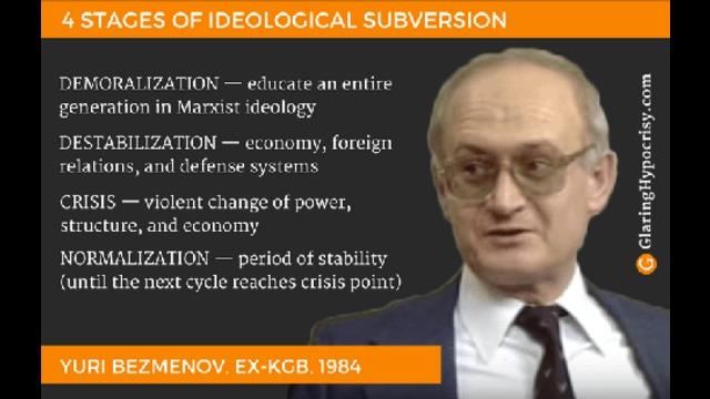 """Ideological Subversion"" – Yuri Bezmenov lecture (1983)"